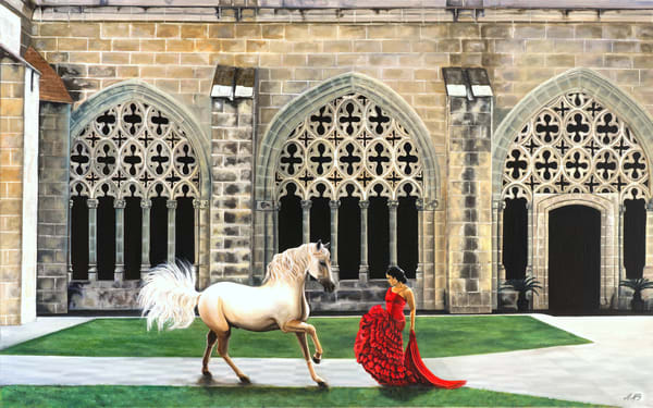 Equestrian Cloisters Art | MMG Art Studio | Fine Art Colorado Gallery