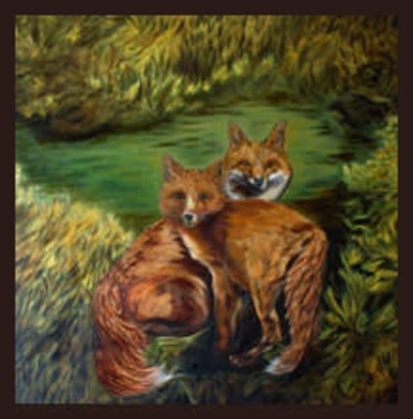 Watchful Eyes! Art   Lynda Moffatt Fine Arts
