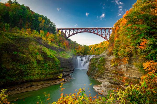 Upper Falls Autumn