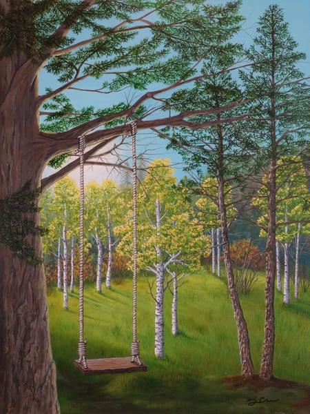 The Tree Swing  Art | Monique Cudbertson Art