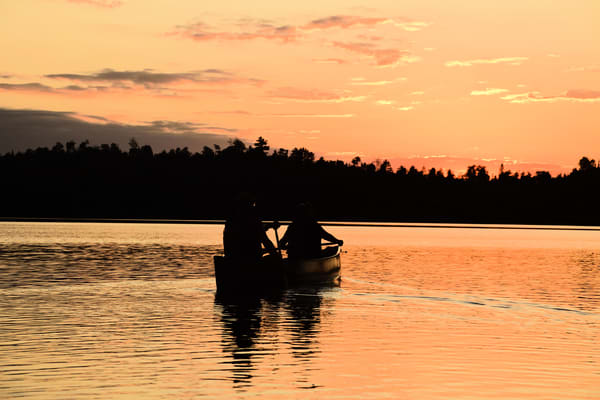 Sunset Paddle Photography Art | LHR Images