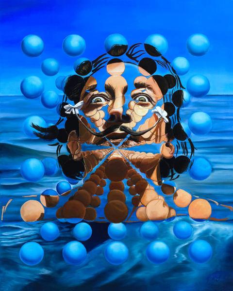 Salvador Dali  | Original Oil Painting Art | MMG Art Studio | Fine Art Colorado Gallery