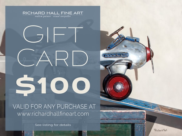 $100 Gift Card | Richard Hall Fine Art