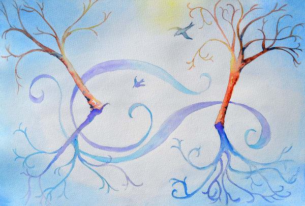 Song Of Winter Art | Color Splash Ranch