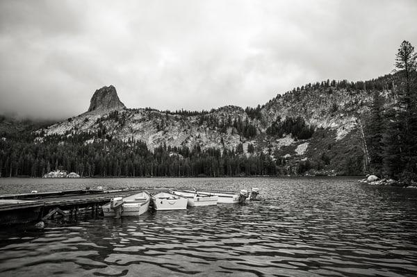 Dockside at Lake George, Mammoth Lakes, California, 2015