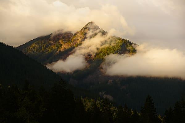 Evening Light on Butter Peak, Washington, 2019