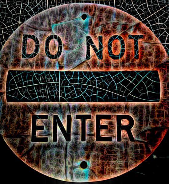 Do Not Enter|Fine Art Photography by ToddBreitlingArt.com