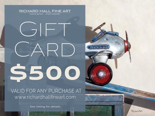 $500 Gift Card | Richard Hall Fine Art