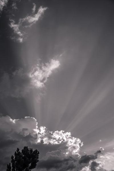 Incoming Storm, Kittitas County, Washington, 2012