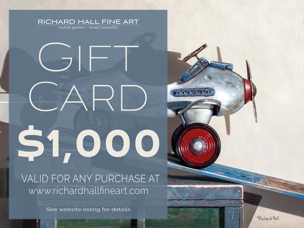 $1000 Gift Card | Richard Hall Fine Art