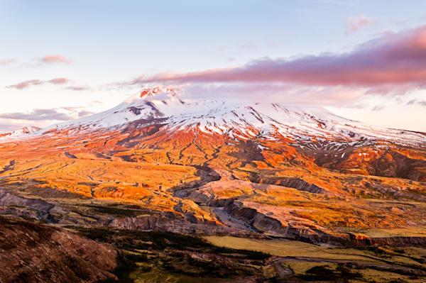 Mount Saint Helens, Washington, 2017