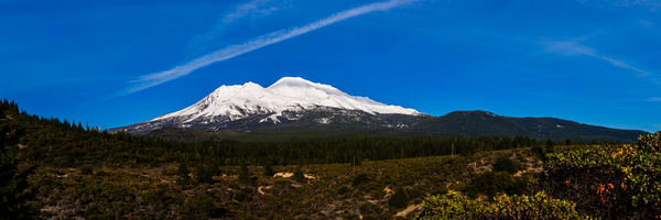 Mount Shasta Panoramic, Califormia, 2016