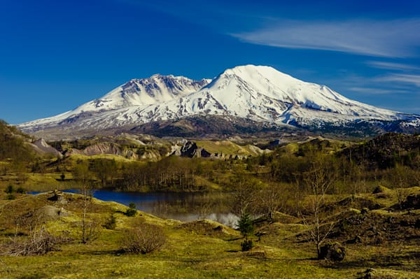 Mount Saint Helens at Hummocks Trail, Washington, 2016