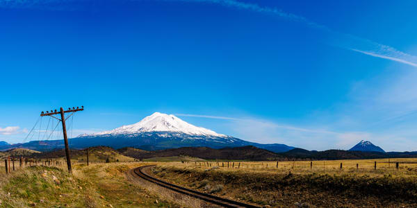 Mount Shasta Panoramic, Edgewood, California, 2016