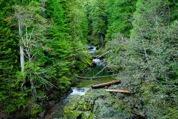 Panther Creek, Mt Rainier National Park, Washington, 2013