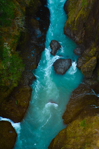 South Fork Skokomish River Canyon, Washington, 2014
