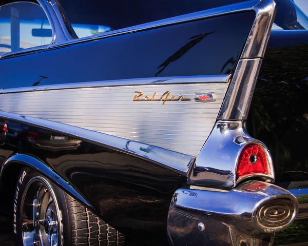 Tail Fin, 1957 Chevrolet Bel Air, 2008