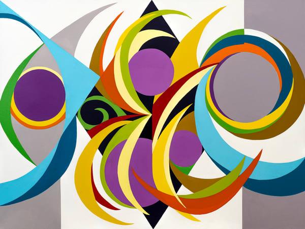 Harmonic Vibration Seven Art | Debra Wuliger