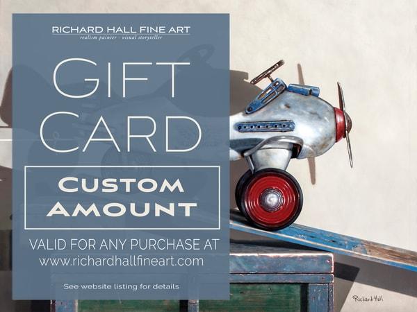 Custom Gift Card | Richard Hall Fine Art