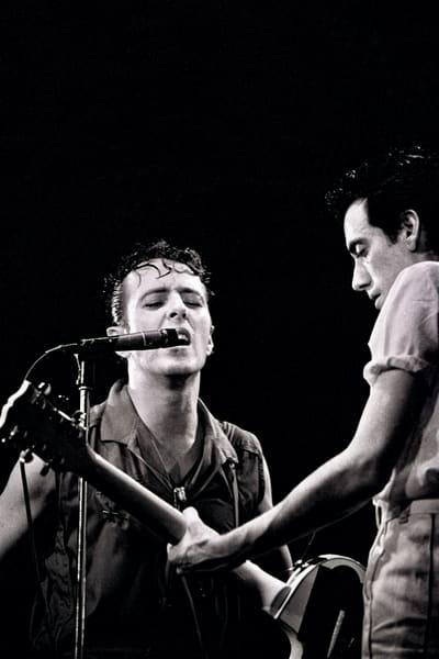 Joe Strummer & Mick Jones of The Clash