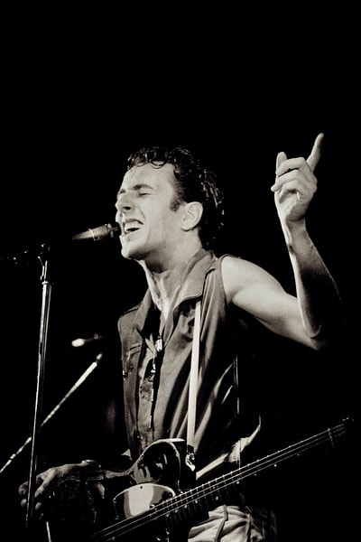 Joe Strummer of The Clash at The Lyceum