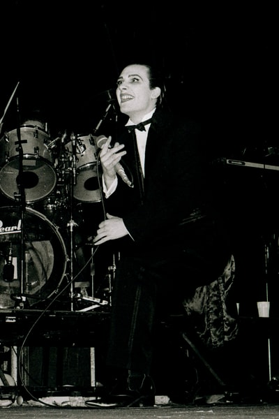 Dave Vanian of The Damned