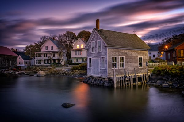 Dawn at Clamshell Alley   Shop Photography by Rick Berk