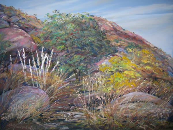Lindy Cook Severns Art | Autumn Marks the Overland Trail, print