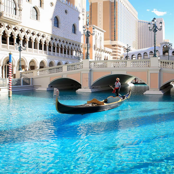 The Venetian Gondola, Las Vegas | Julie Williams Fine Art Photography