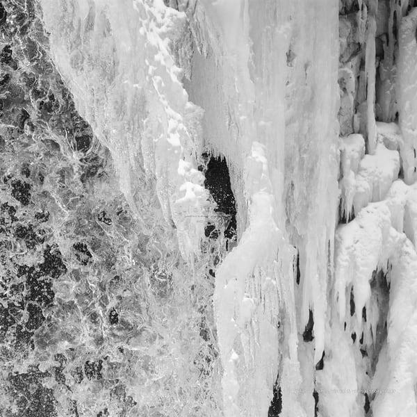 Frozen Waterfall, Hoggs Falls | Julie Williams Fine Art Photography