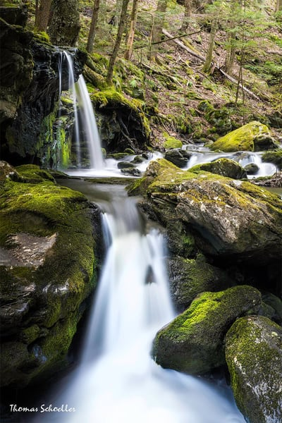 The Berkshires Fine Art Nature photography   Sage's Ravine waterfalls prints for sale