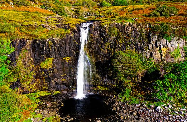 Isle of Mull - Eas Fors Fall - Scotland Art, Christopher Gatelock
