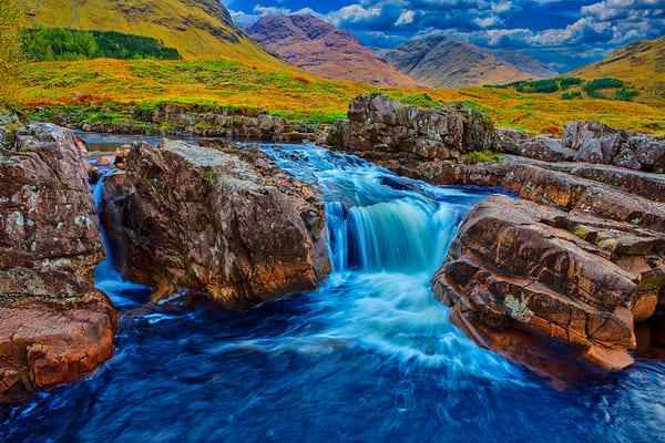 Glencoe Mountains 1 - Scotland Art, Christopher Gatelock