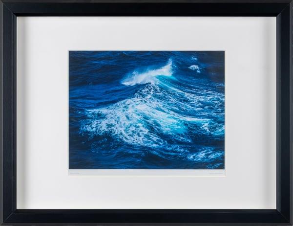 Blue Wave - framed