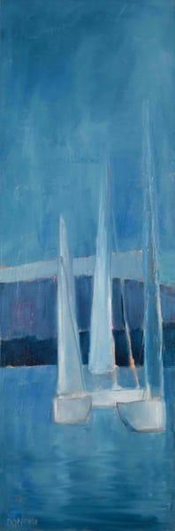 Gathering At The Fjord Art | Laura Donovan