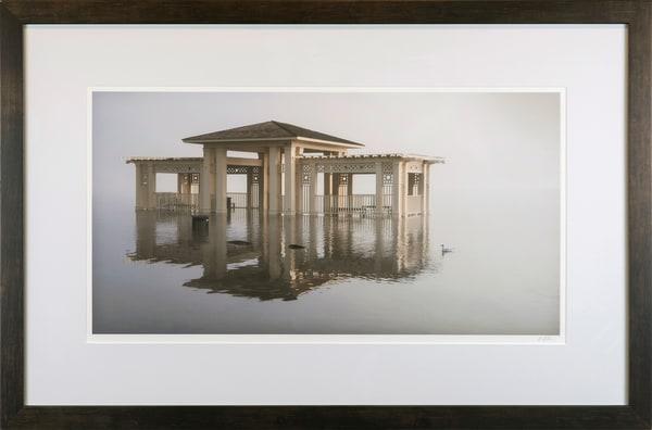 Stillwater Flood and Fog - framed