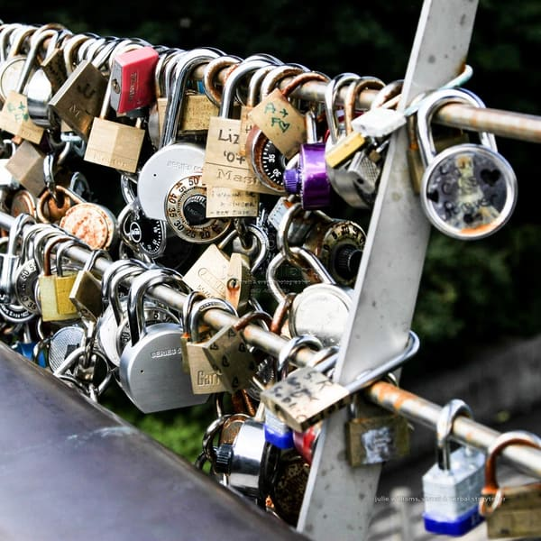 Love Locks At The Ottawa Canal | Julie Williams Fine Art Photography