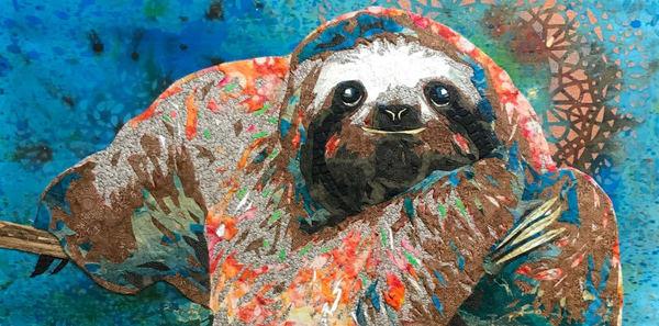 Sloth Art   Kristi Abbott Gallery & Studio