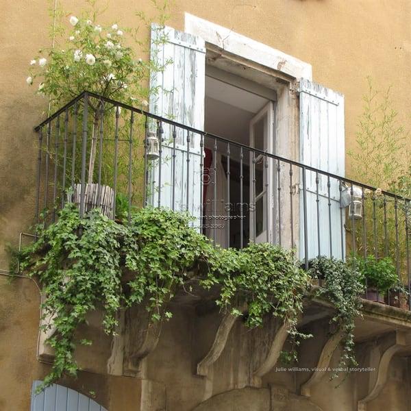 Balcony, Provence | Julie Williams Fine Art Photography