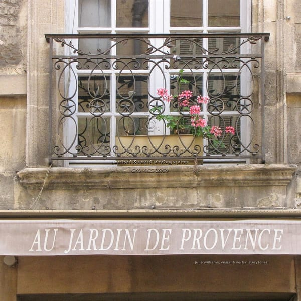 Provence Balcony | Julie Williams Fine Art Photography