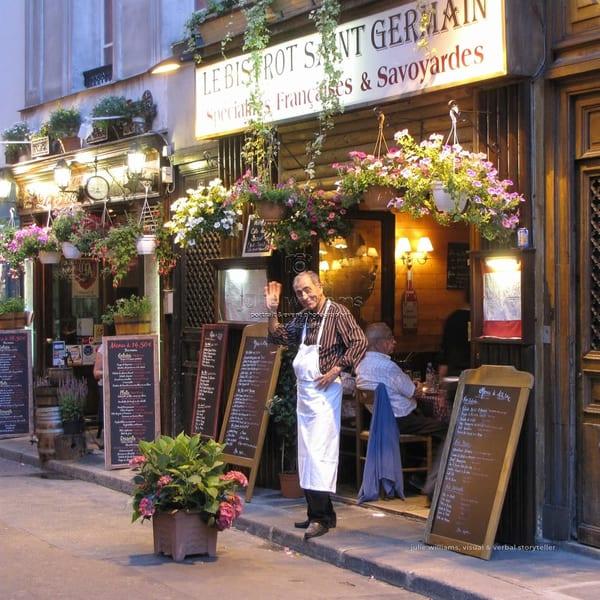 Parisien Cafe | Julie Williams Fine Art Photography