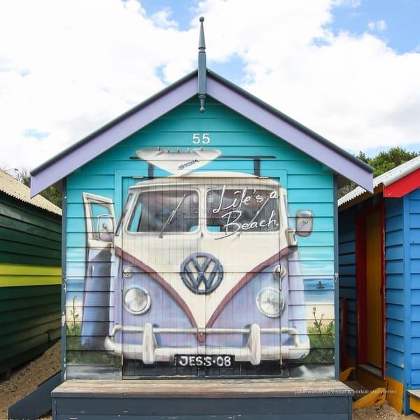 Beach Hut | Julie Williams Fine Art Photography