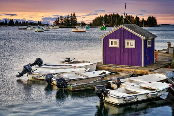 Morning in the Harbor | Shop Photography by Rick Berk