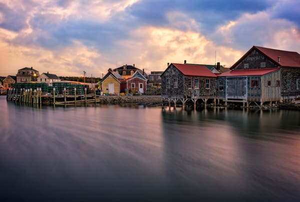 Clamshell Alley Vinalhaven   Shop Photography by Rick Berk