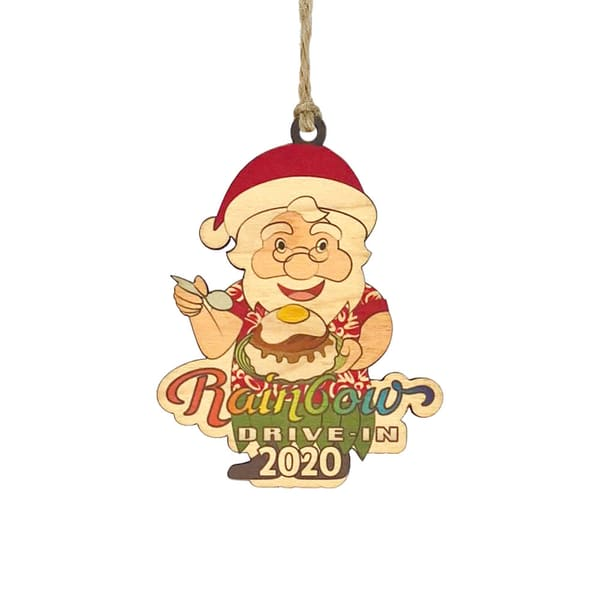 HI Biz Ornaments | Rainbow Drive-In Limited Edition 2020 Ornament