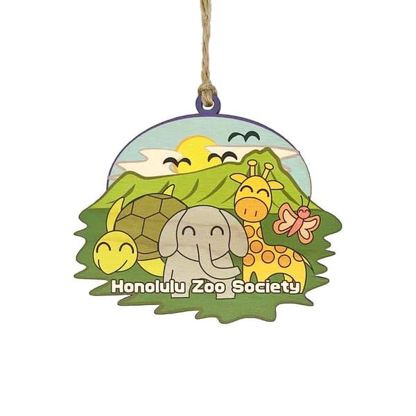 HI Biz Ornaments | Honolulu Zoo Society Limited Edition 2020 Ornament