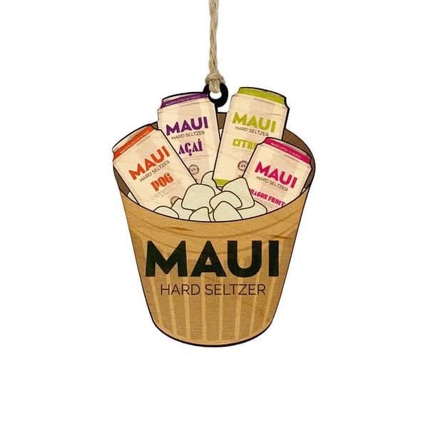 HI Biz Ornaments | Maui Hard Seltzer Limited Edition 2020 Ornament