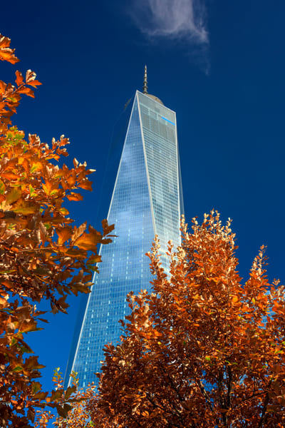 Autumn at One World Trade | Shop Photography by Rick Berk