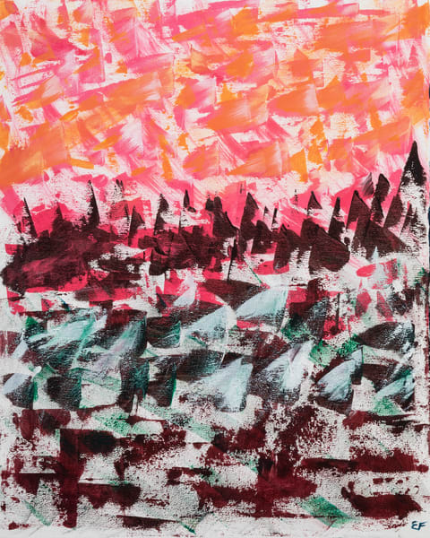 Lakeside Views Art   Emma Frost