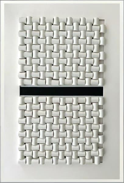 White Black Painel 2 Art | Priscila Schott